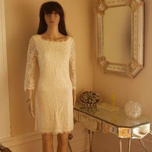 Diane Vin Furstenberg Zarita Lace Sheath Dress